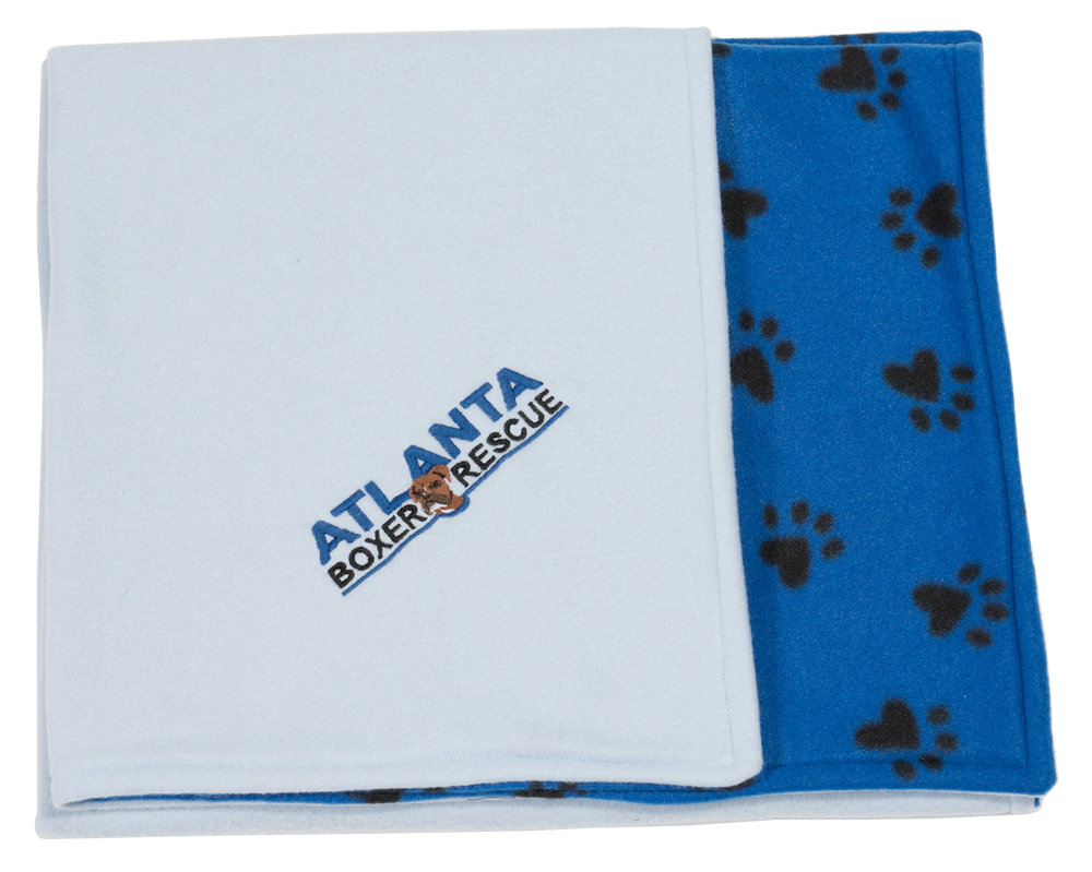 Blue ABR Fleece Blanket